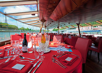 Mother's Day Boat Cruise on the River Seine