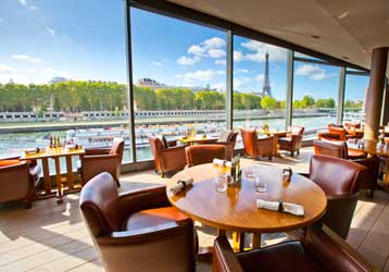 Lunch and brunch on the Seine