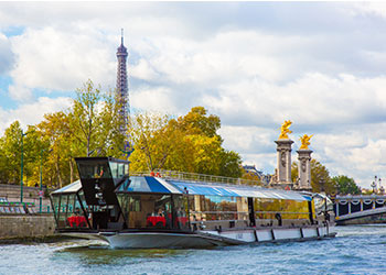 Photos of the cruise on the Seine
